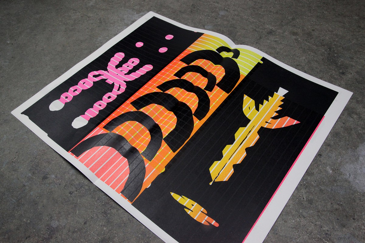 Double Dagger Issue 3 Rainbow Posters